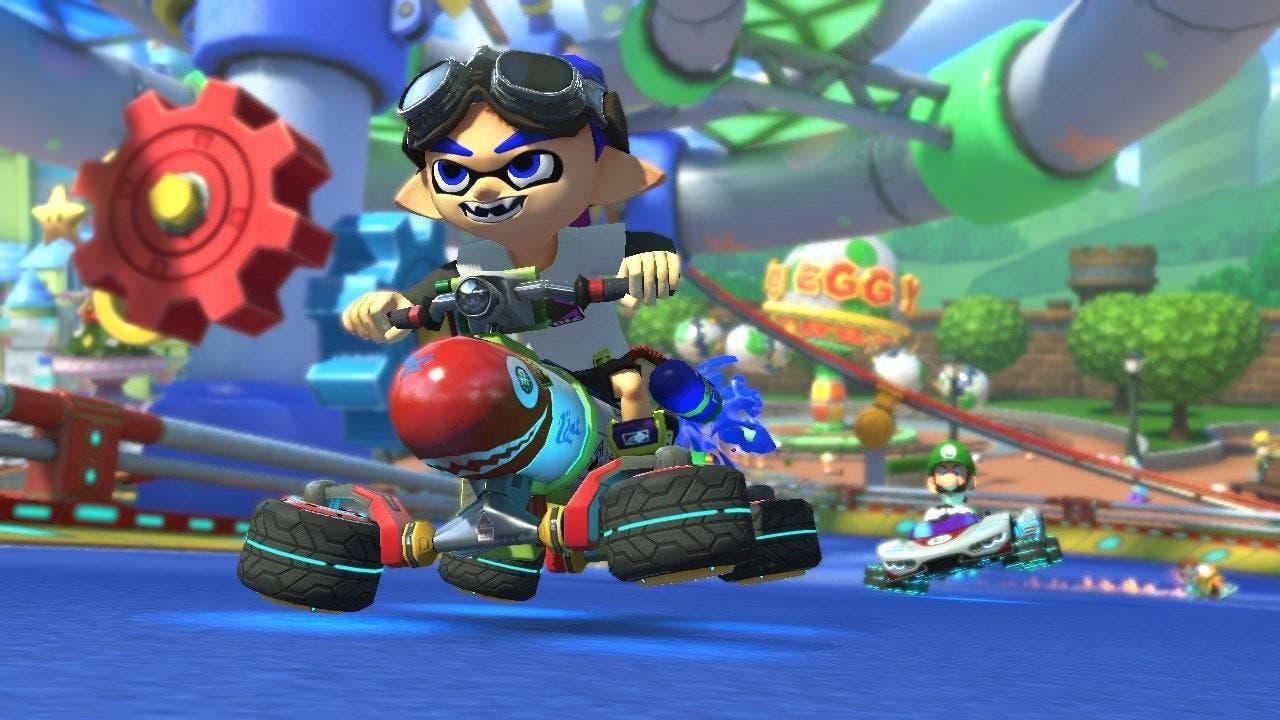 Mario Kart 8 Deluxe se actualiza a la versión 1.1