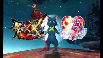 Gameplay de la colaboración de Monster Hunter XX con Sailor Moon