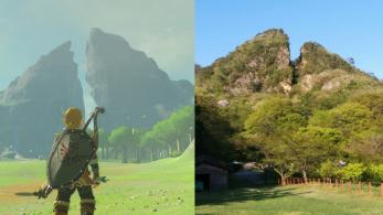 Parece que los Picos Gemelos de Zelda: Breath of the Wild también existen en la realidad
