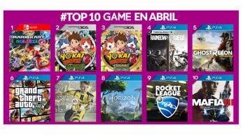 Mario Kart 8 Deluxe se coloca como lo más vendido de abril en GAME España