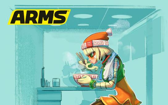 ARMS: Nuevo arte de Min Min