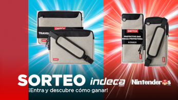¡Sorteamos estas 4 bolsas para Nintendo Switch junto a Indeca Business!
