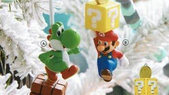 Hallmark anuncia una nueva colección de adornos de Super Mario