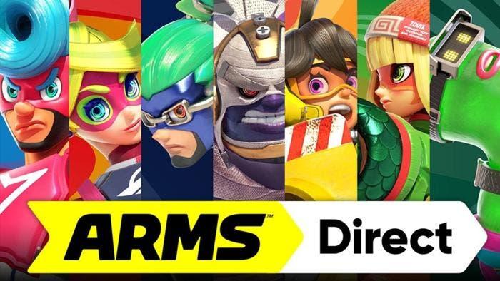 Anunciado ARMS Direct para el 18 de mayo, también se mostrará un tráiler de Splatoon 2