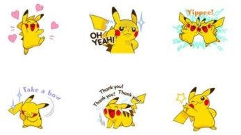 Un nuevo set de stickers de Pikachu llega a LINE