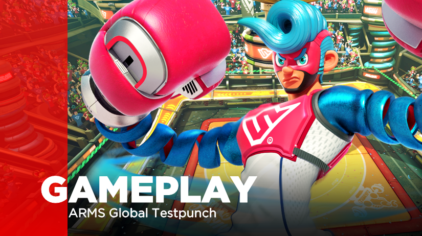 Recopilatorio de gameplays de la primera ronda de la ARMS Global Testpunch