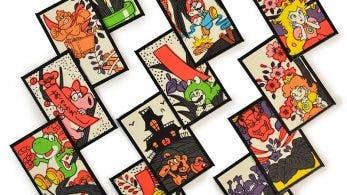 La Nintendo NY recibe este genial set de cartas Hanafuda de Super Mario
