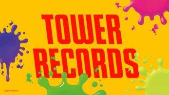 Tower Records prepara una colaboración con Splatoon 2