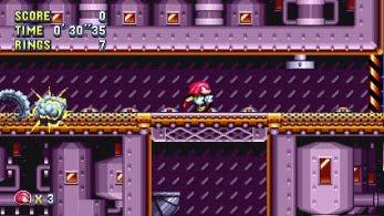 Nuevo gameplay de Sonic Mania muestra la clásica Flying Battery Zone