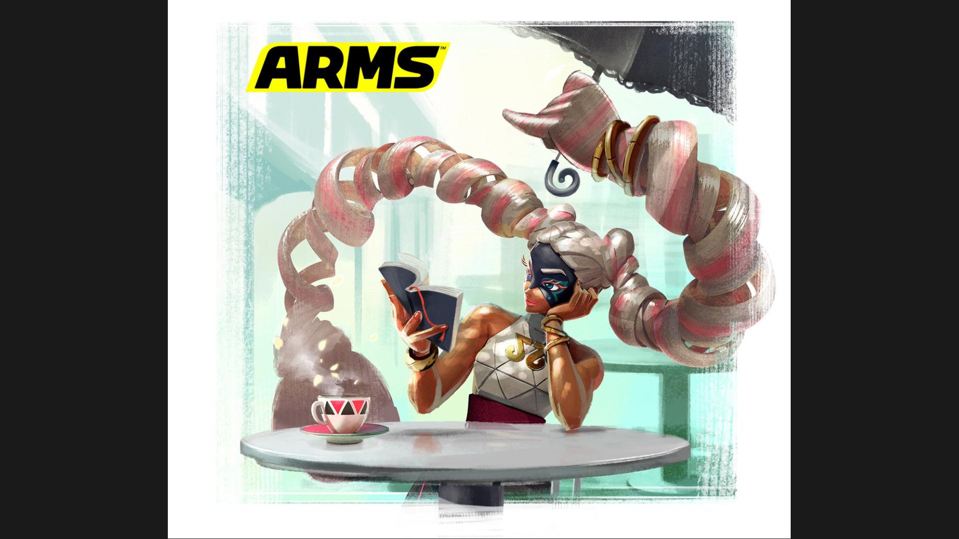 Twintelle protagoniza el último arte de ARMS