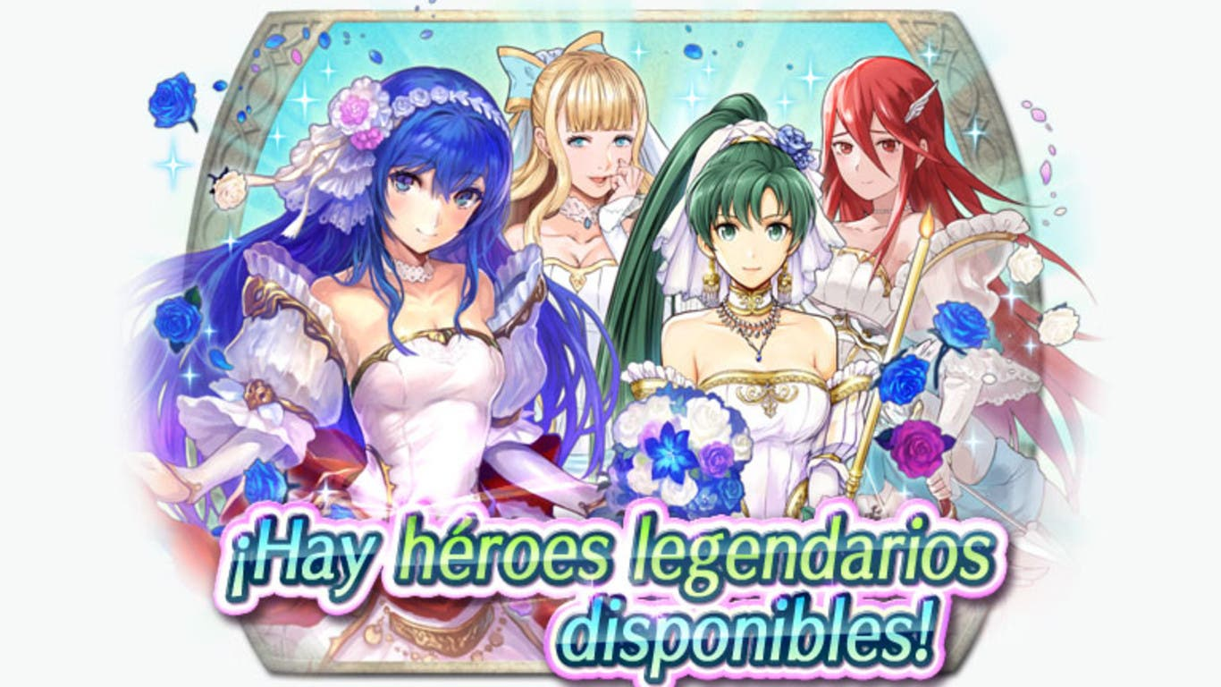 El Evento de preferencia de héroes especiales: Bendición nupcial ya está disponible en Fire Emblem Heroes