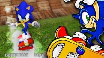 El juego perdido de skateboarding de Sonic The Hedgehog que nunca llegó a GameCube