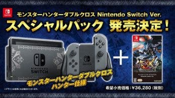 Imágenes del pack, primeras capturas, comercial y comparativa con 3DS de Monster Hunter XX para Switch