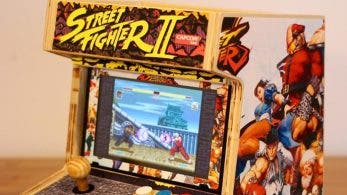 Echad un vistazo a esta Switch convertida en una magnífica recreativa tematizada de Street Fighter
