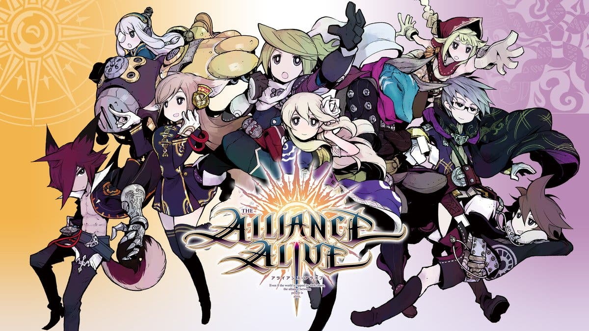 Así es el boxart japonés de The Alliance Alive HD Remastered