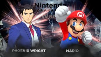 3ª Ronda de Nintendo Wars – Enfrentamiento #6: ¡Phoenix Wright vs. Mario!