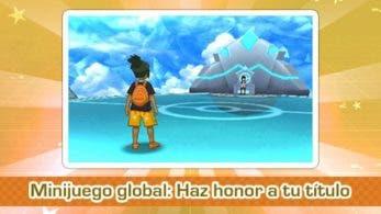 Ya disponible un nuevo minijuego global en Pokémon Sol y Luna: «Haz honor a tu título»