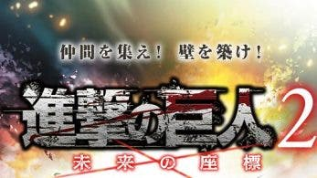 Attack on Titan: Coordinates of the Future es anunciado para Nintendo 3DS en Japón