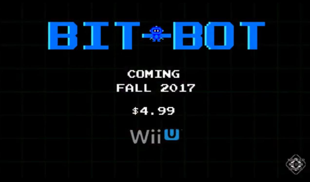 Más apoyo indie para Wii U: Bit Bot anunciado para otoño