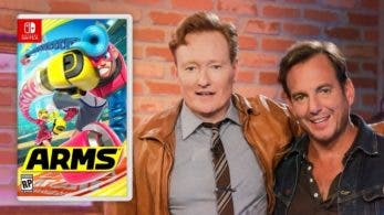 Vídeo: Conan O'Brien juega a ARMS con Will Arnett en el último episodio de Clueless Gamer