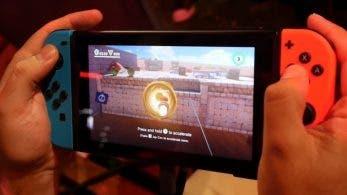 Este gameplay nos muestra cómo es jugar a Super Mario Odyssey en el modo portátil de Switch