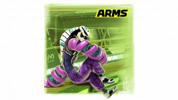 Kid Cobra protagoniza el último arte oficial de ARMS