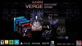 [Act.] Axiom Verge: Multiverse Edition llegará a Switch y Wii U en agosto