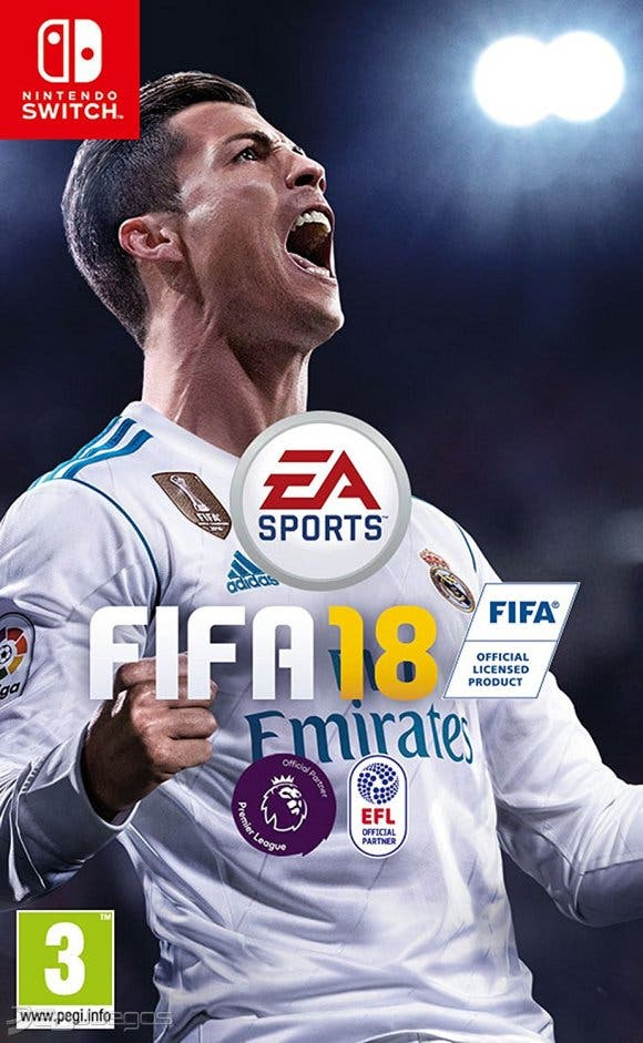 fifa 18 incluye un kit exclusivo de nintendo switch. Black Bedroom Furniture Sets. Home Design Ideas