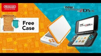 La Nintendo UK Store regala una funda reversible con la reserva de New Nintendo 2DS XL