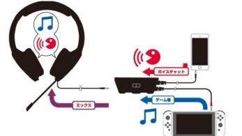 HORI lanzará unos nuevos Gaming Headset Air Stereo para Switch en Japón