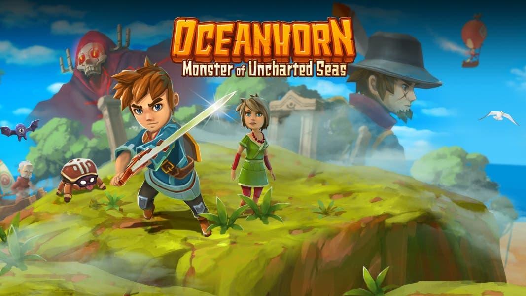 Oceanhorn: Monster of Uncharted Seas ya es compatible con la captura de vídeo de Switch