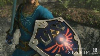 [Act.] Echad un vistazo a este gameplay off-screen en modo portátil de Skyrim con el equipo de Zelda