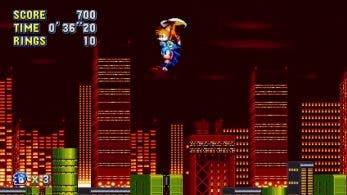 Tails nos llevará en volandas al usar esta combinación de botones cuando estemos jugando solos a Sonic Mania
