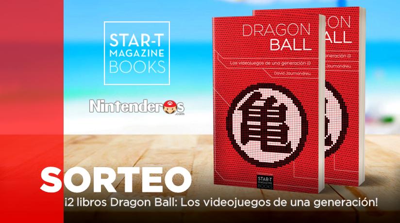 [Act.] ¡Sorteamos dos libros Dragon Ball: Los videojuegos de una generación (Vol.1) junto a Star-t Magazine Books!