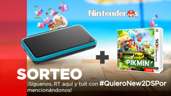 ¡Sorteamos una New Nintendo 2DS XL+ Hey! Pikmin!