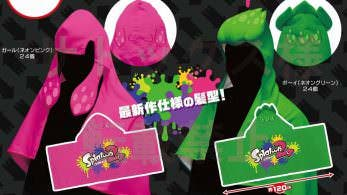 Play-Asia comercializa unas divertidas toallas de Splatoon 2