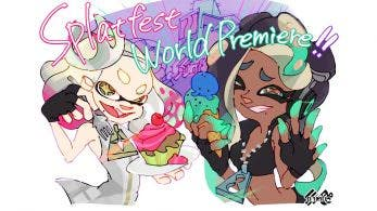 Nintendo comparte el arte de Cefalopop para el primer Splatfest occidental de Splatoon 2