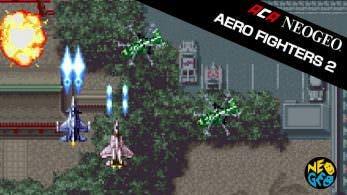 [Act.] El próximo juego de Neo Geo en Switch será Aero Fighters 2