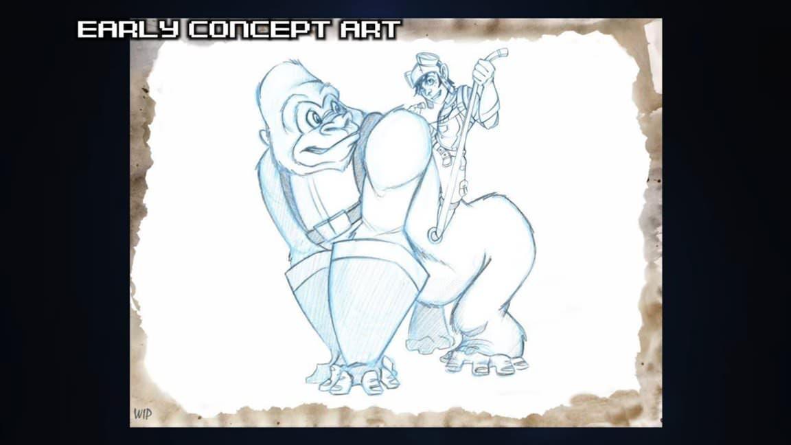 Un vistazo a Goliath, el juego de plataformas 3D cancelado de los desarrolladores de Epic Mickey, Juction Point
