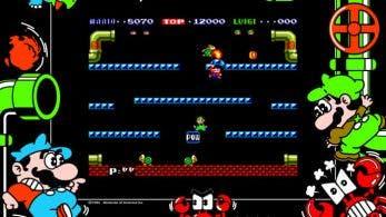 Hoy se cumplen 34 años del lanzamiento de Mario Bros. en Japón