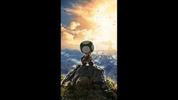 [Act.] Estos fondos de pantalla oficiales de Toad en Zelda: Breath of the Wild son realmente épicos