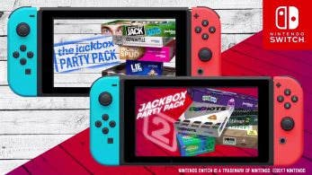 Tamaño de la descarga de The Jackbox Party Pack 1 y 2 para Switch