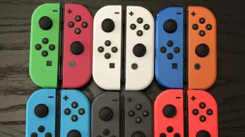 Así luce la gama de Joy-Con de diferentes colores ofrecida por Colorware