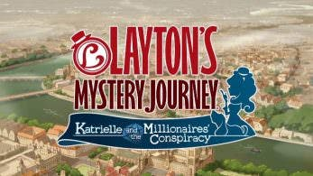[Act.] Primer tráiler occidental de Layton's Mystery Journey: Katrielle and the Millionaires' Conspiracy