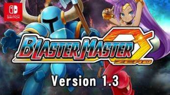Shantae y Shovel Knight serán añadidos como personajes DLC a Blaster Master Zero