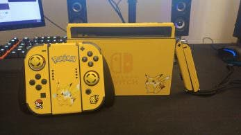 Un fan decora su Switch con este espectacular diseño de Pikachu