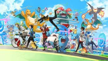 Pokémon GO celebra su primer aniversario con un nuevo arte