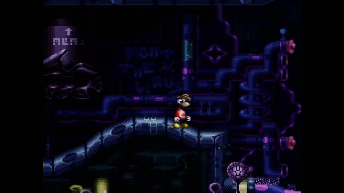 El prototipo cancelado de Rayman para Super Nintendo ha sido subido a internet