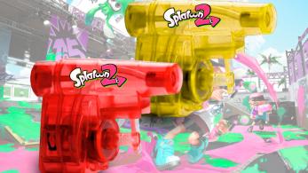 Reserva Splatoon 2 en XtraLife y llévate este set de mini pistolas de agua
