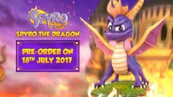 [Act.] First 4 Figures está realizando una figura de Spyro y nos lo muestra en vídeo